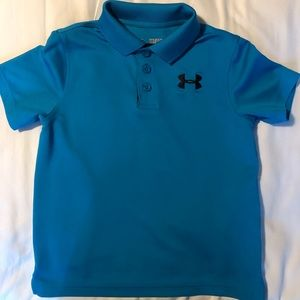 Under Armour YXS heatgear polo shirt